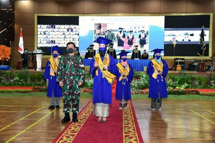 Wisuda Perdana SMA Pradita Dirgantara Dihadiri oleh Panglima TNI dan KSAU